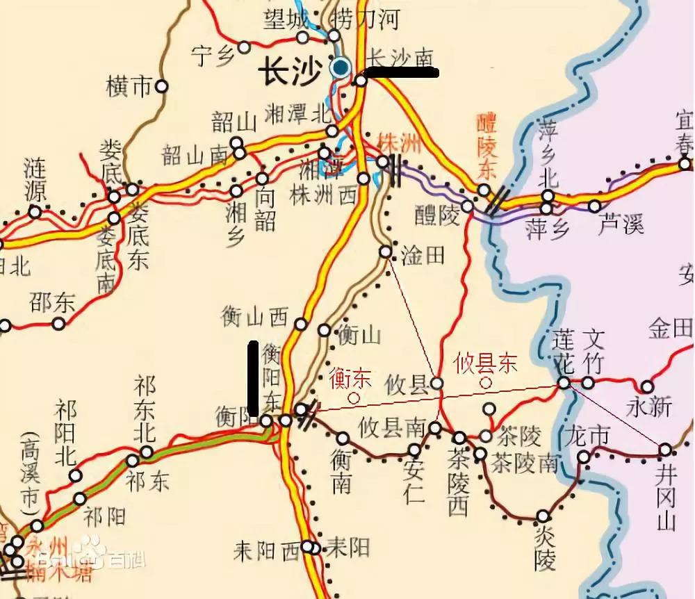 攸县真的会有高铁经过吗