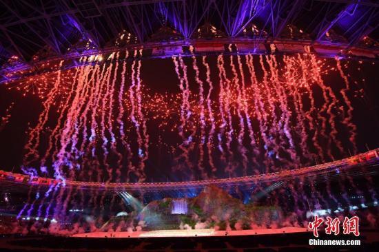 雅加达亚运会收官 中国队连续十届蝉联金牌榜第一_图1-4