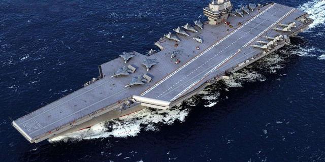 """003航母果然非同凡响,典型核动力设计,美国都叹服""""先进"""""""
