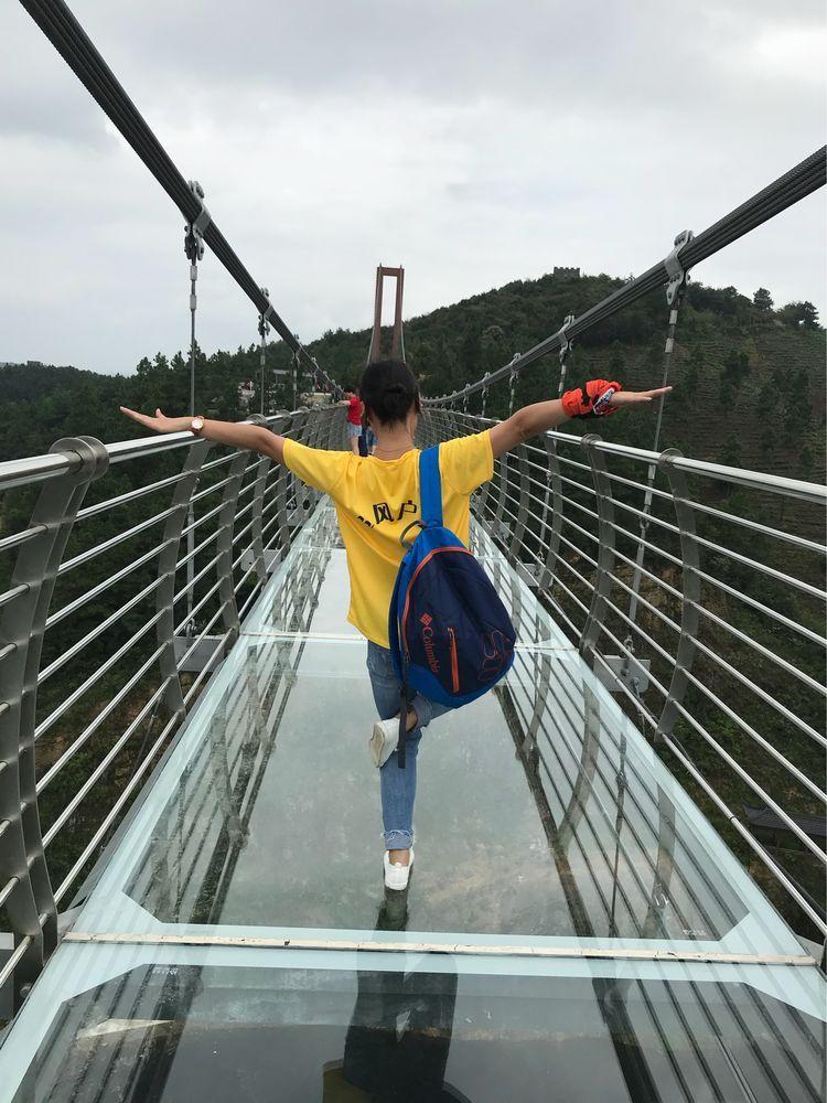 百闻不如一游:耀武关玻璃桥之旅图片