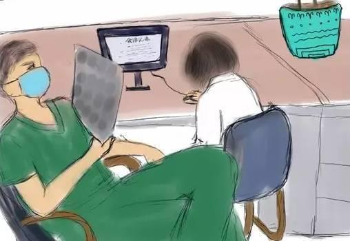 下午三点多,一名患者家属来办公室找 t 医生,同事说:「t 医生下夜班图片