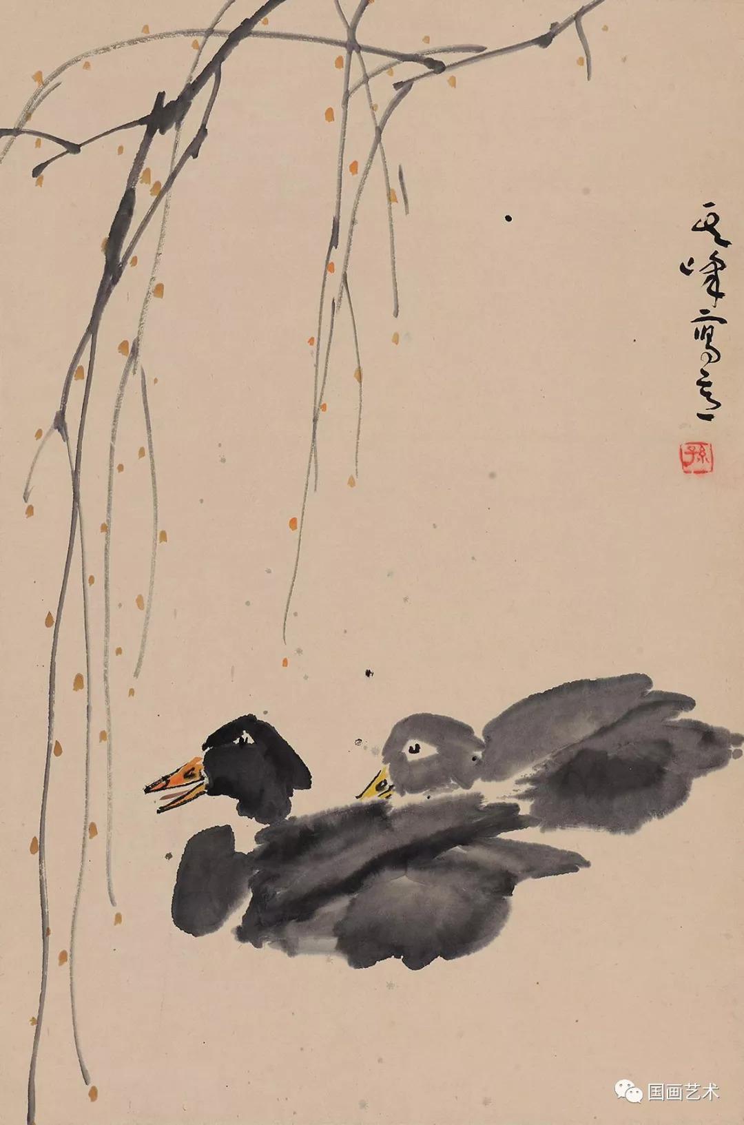 名家讲堂 孙其峰教授讲解鸭子画法