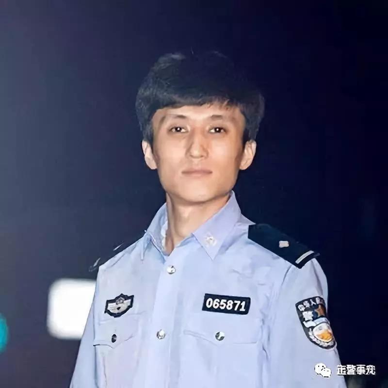 中国公安警服_褚思源 2016年毕业于中国人民公安大学,现任东升派出所青年突击队