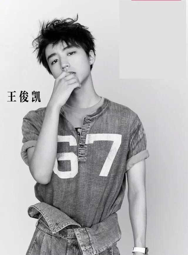 王俊凯长大了,最新照片荷尔蒙感爆棚