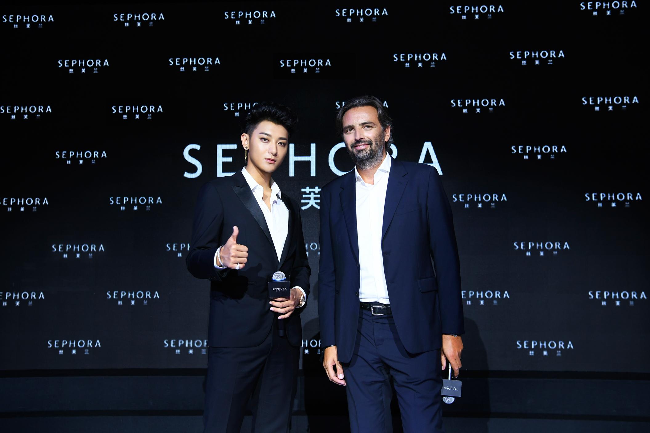 丝芙兰SEPHORA宣告全新美力概念 黄子韬担任品牌形象代言人
