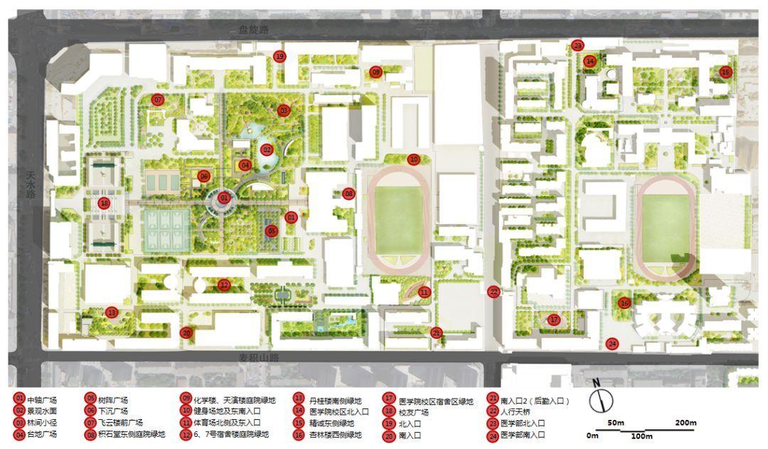 场地策划平面图