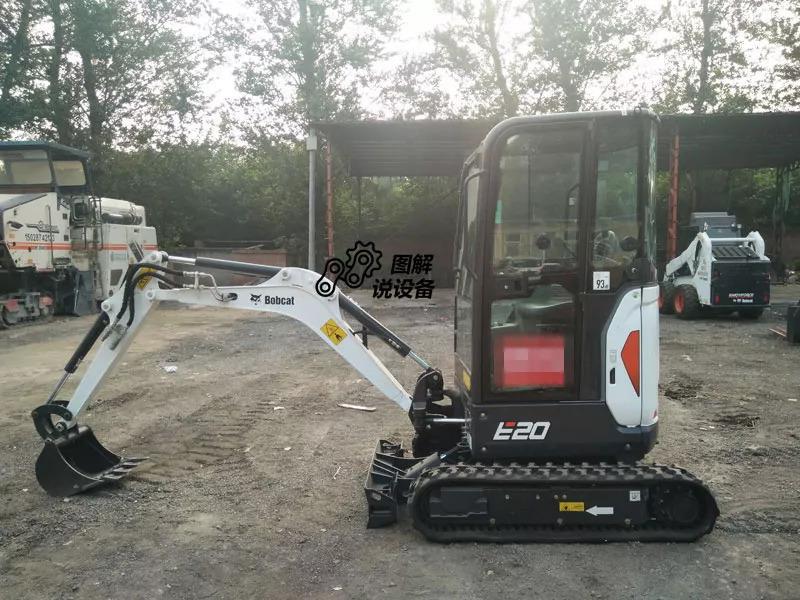 图解说设备:微挖贵族——山猫e20挖掘机