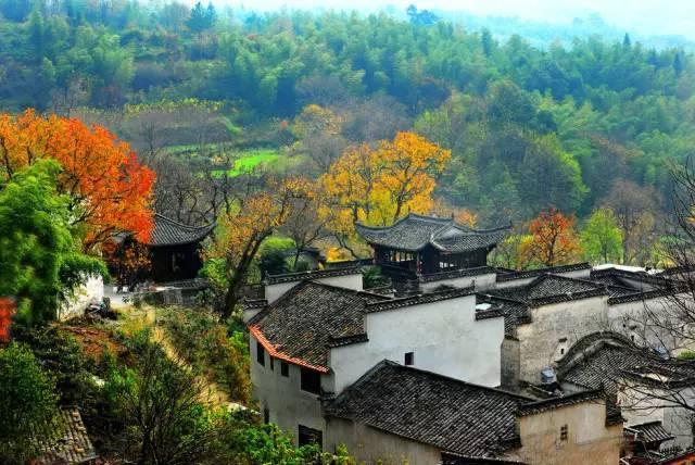 秋色最美的九大村落,你想去哪一个?