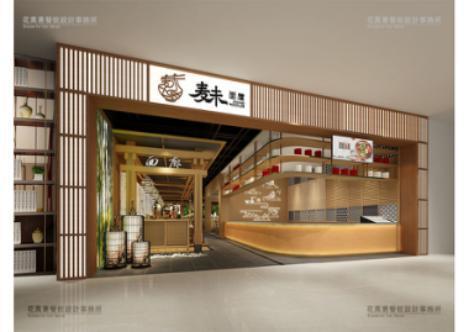 麦未面屋:用一碗面,给情感增加温度丨花万里深圳餐饮设计