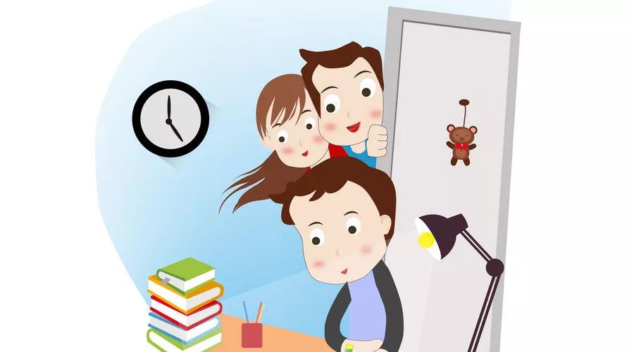 致家长:陪伴是最长久的告白,新学期从陪孩子写作业开始!图片