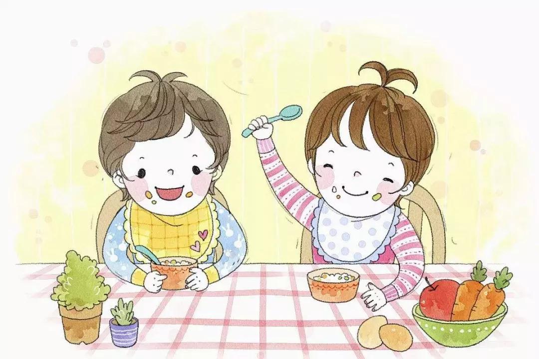 【健康】开学了~~孩子养成膳食好习惯,再也不用担心幼儿园的吃饭问题图片