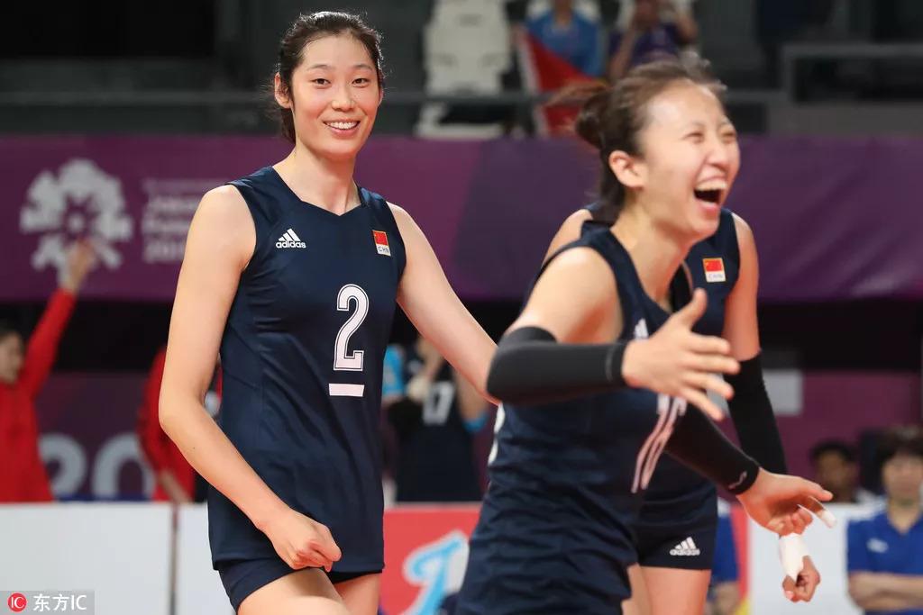 中国队需要朱婷气质的保养