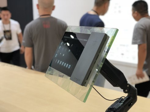 2018年9月3日LivingLab亮相上海国际智能家居展