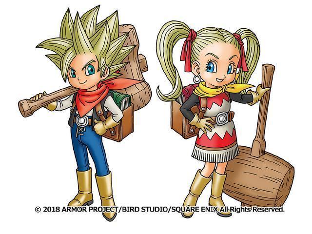 勇者斗恶龙 创世小玩家2 发售日为12月20日,登陆PS4和Switc