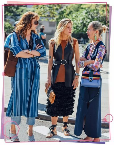 秋装连衣裙如何搭配?裙子+裤子才是2018年最时髦的穿法