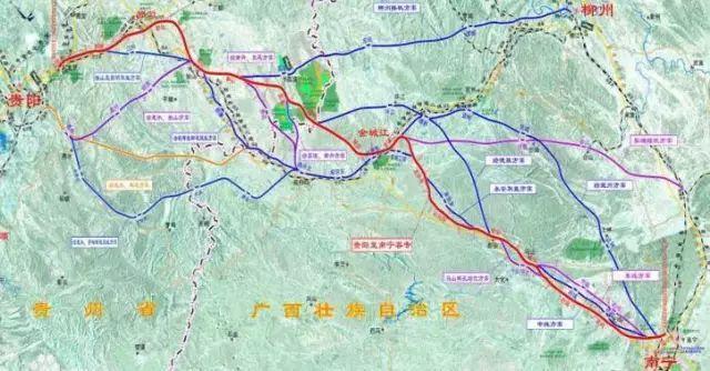 成贵高铁、贵南高铁、铜玉铁路最新进展,贵州人速看!