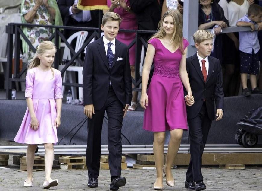 伊丽莎白公主将成为首位比利时女王,颜值爆表成众人焦点!