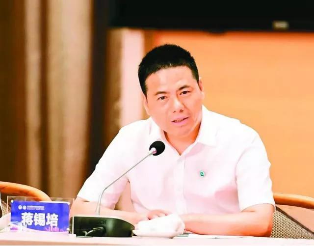 同频共振用心链接 相信相信的力量 ——蒋锡培出席2018中国500强企业