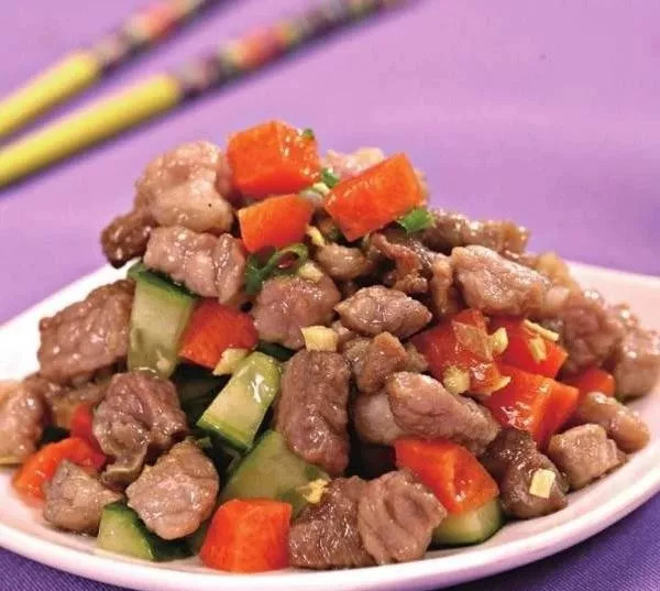 猪肉和这道菜搭配,不仅美味营养,还能清热降脂,减肥人士有福了