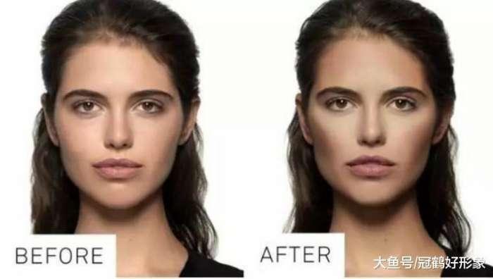 新手入门的初级修容法简单易学人人都能变精致小脸