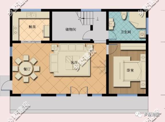 一楼三间设计图平面图