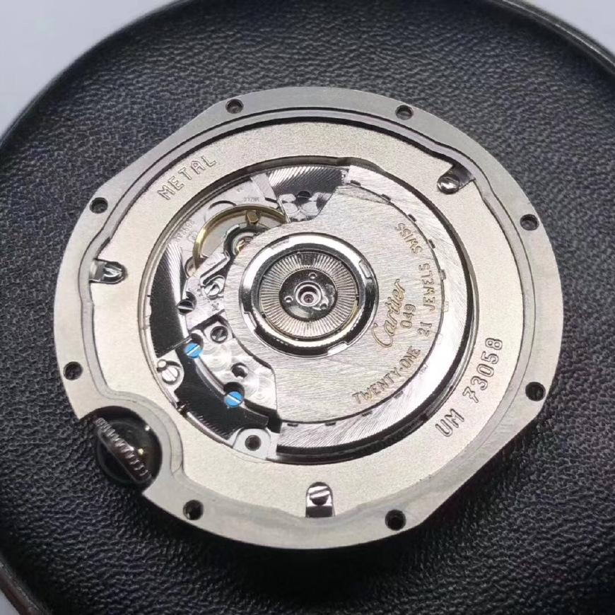 【老K谈表第227期】V6厂卡地亚蓝气球男款拆解评测