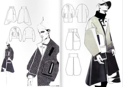 帕森斯设计学院服装设计作品集要求解析图片