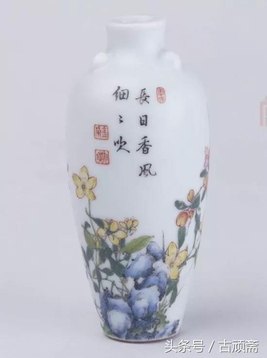 清代珐琅彩瓷器的主要鉴别要点主要这几个方面