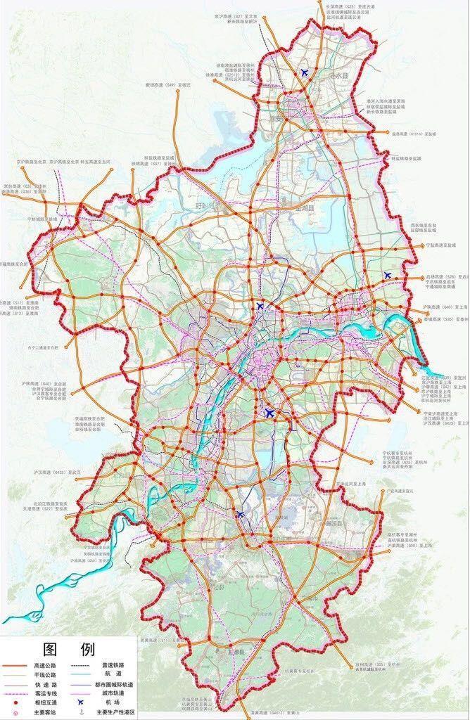 江北新区规划图