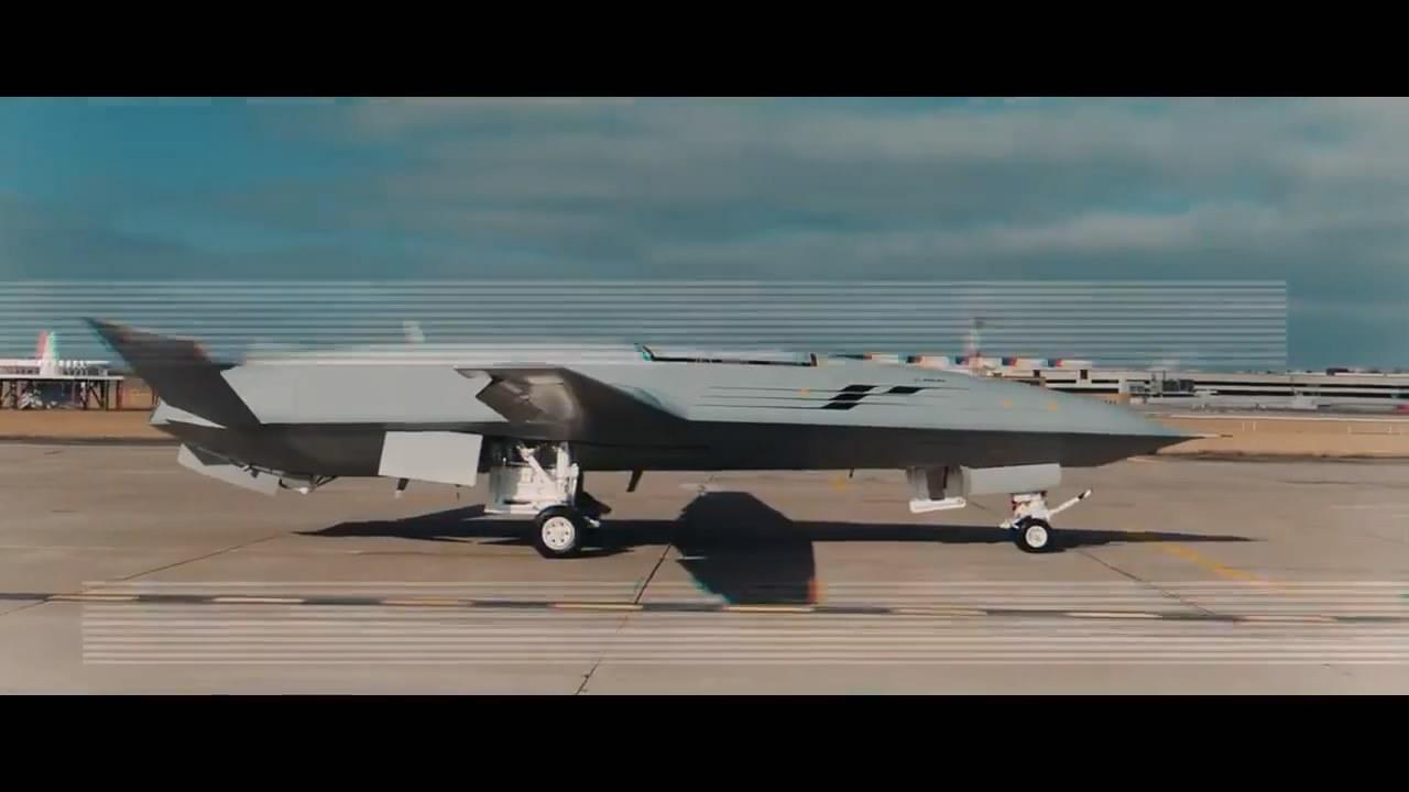 应对中国?美最新无人舰载机科幻外形曝光