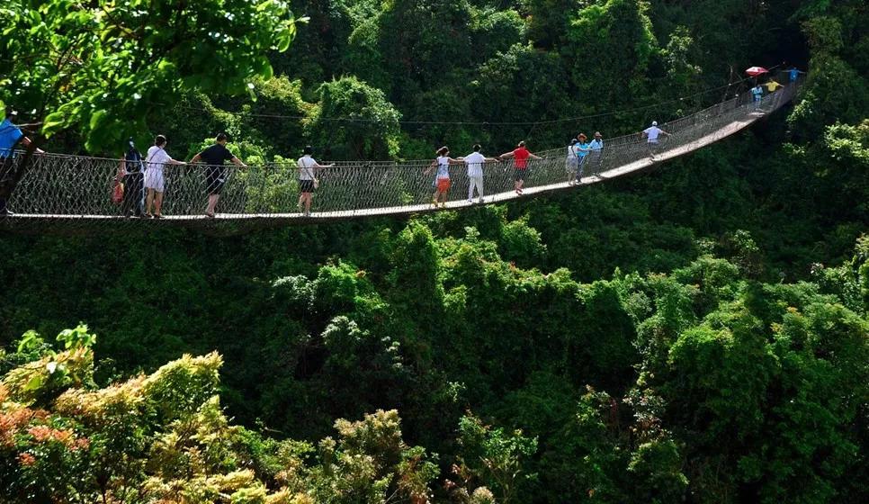 天堂森林公园里有趣的景点可不少图片