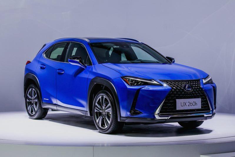 全新紧凑SUV雷克萨斯UX成都国际车展亚洲首发