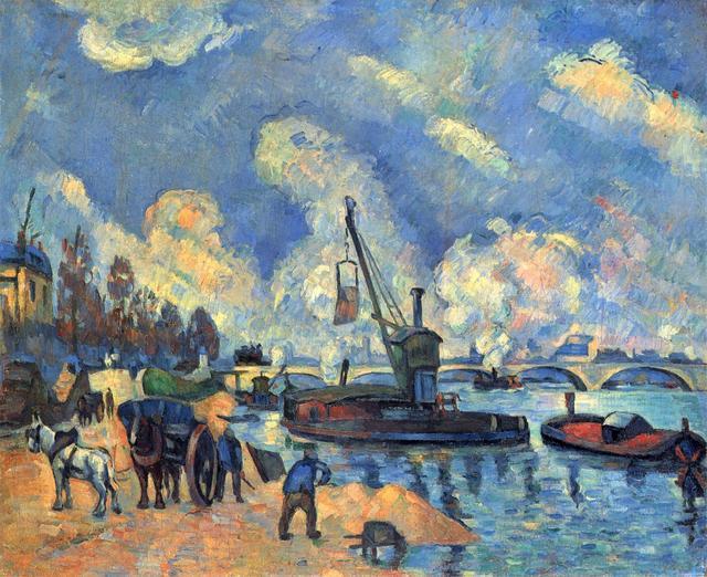 世界现代艺术之父塞尚油画作品欣赏1