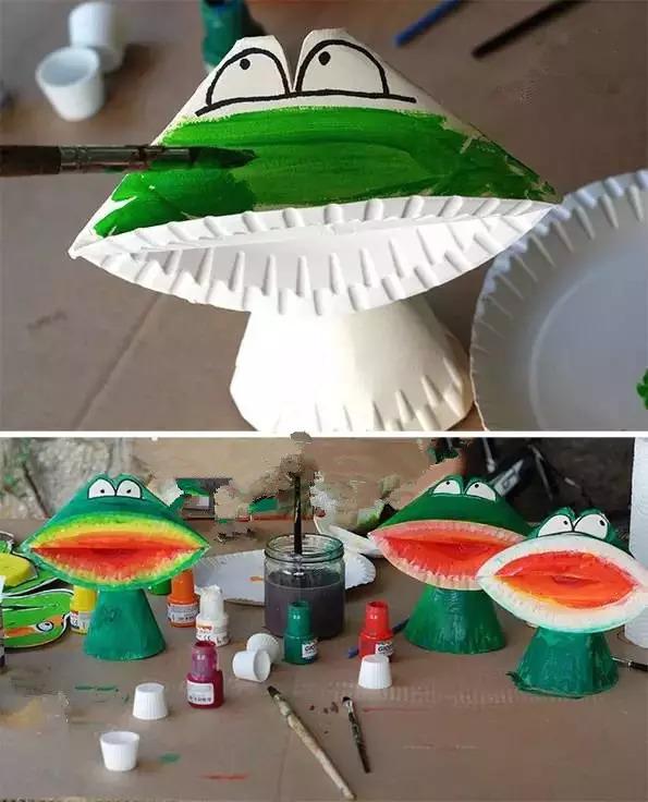 园手工制作雨伞