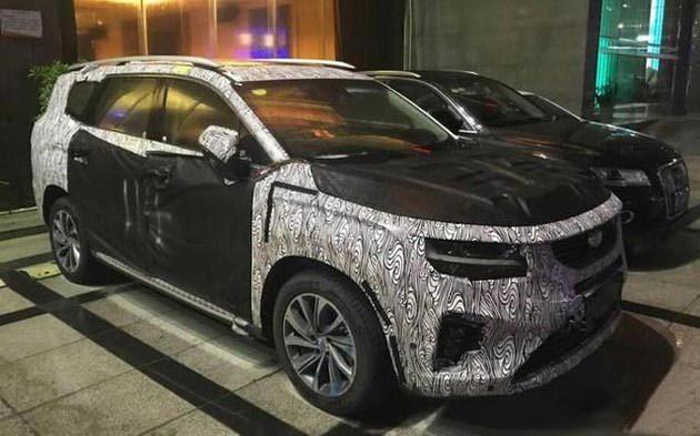 """确认过眼神 吉利全新中大型SUV VF12或将搭载""""雷神之锤"""