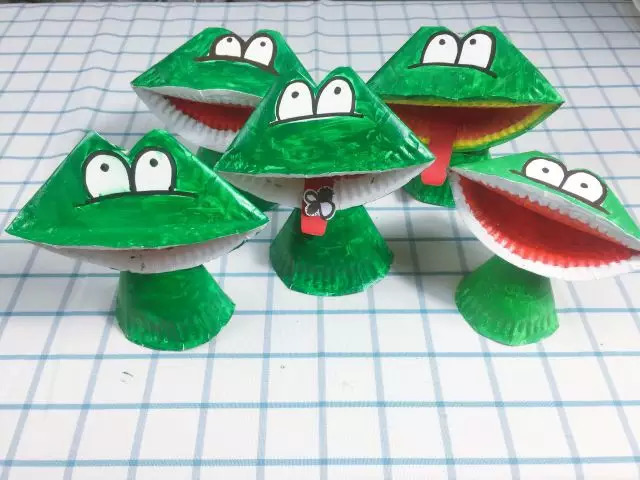【纸盘手工】幼儿园纸盘手工作品,实在太有创意了!图片