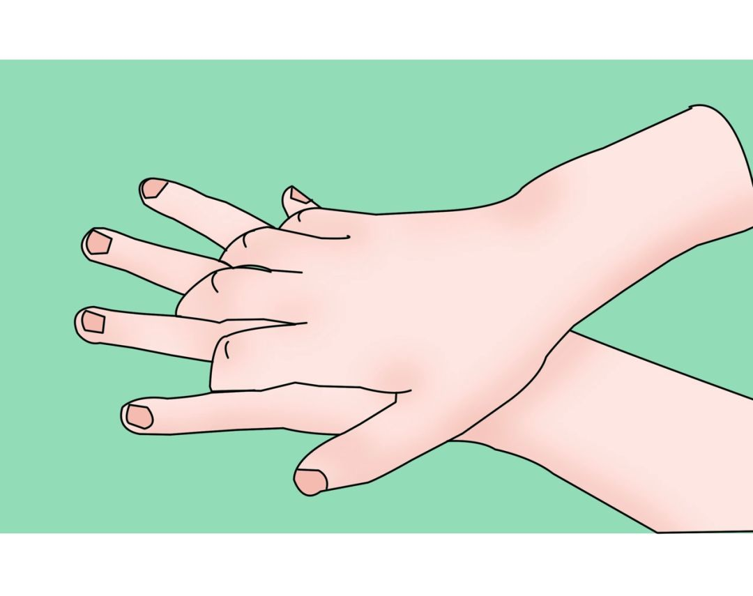 步洗手法,教你家小朋友正确洗手图片
