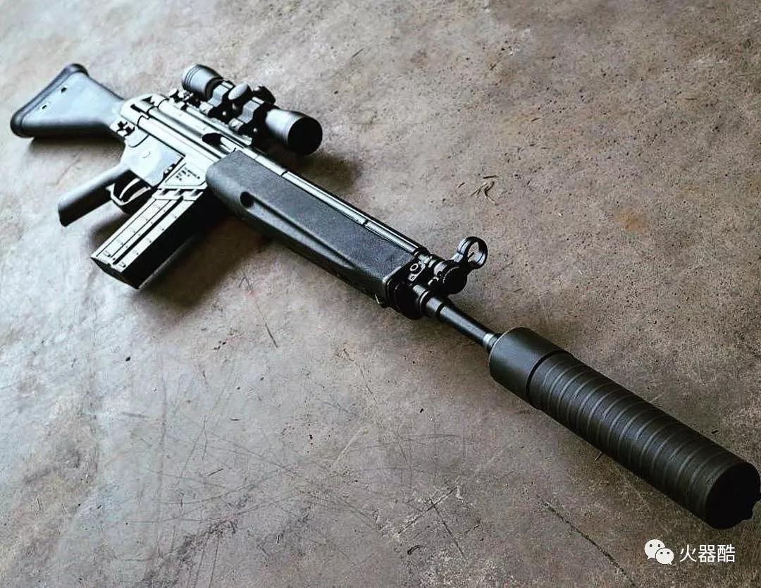 msg90步_【更准更强】hk公司msg-90半自动狙击步枪