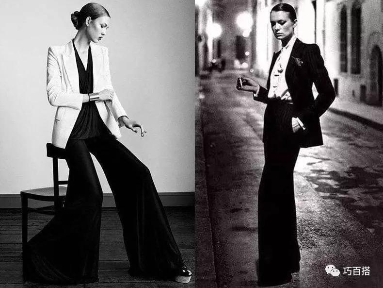 除了阔腿裤,拖地裤今秋更流行,推荐10款人气单品,显瘦又显高
