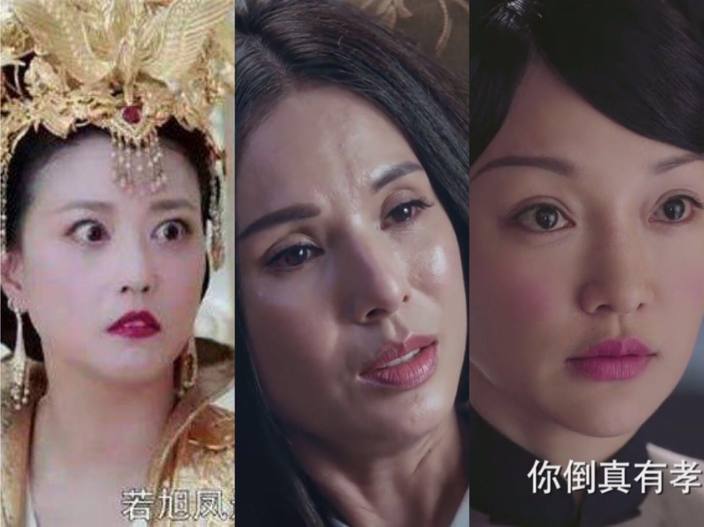 51岁周海媚和43岁周迅扮演角色被吐槽,无P图的李若彤也无法幸免