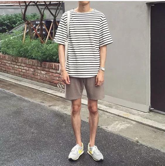 男生身材太瘦了,该怎么搭!图片