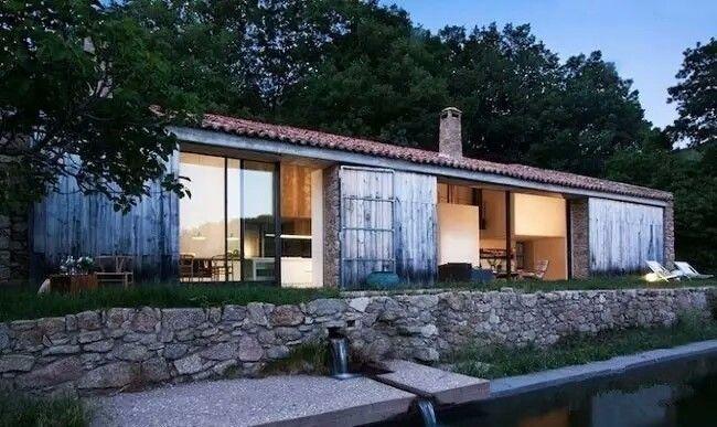 殊不知,创意改造设计后 竟是那美丽的乡村民宿 01 西班牙建筑师baton