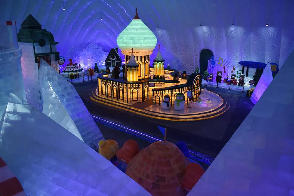 冰雪大世界室内主题乐园图片