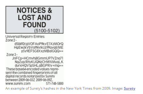 史上最古老的区块链,竟隐藏在1995年的纽约时报中-区块链物联网