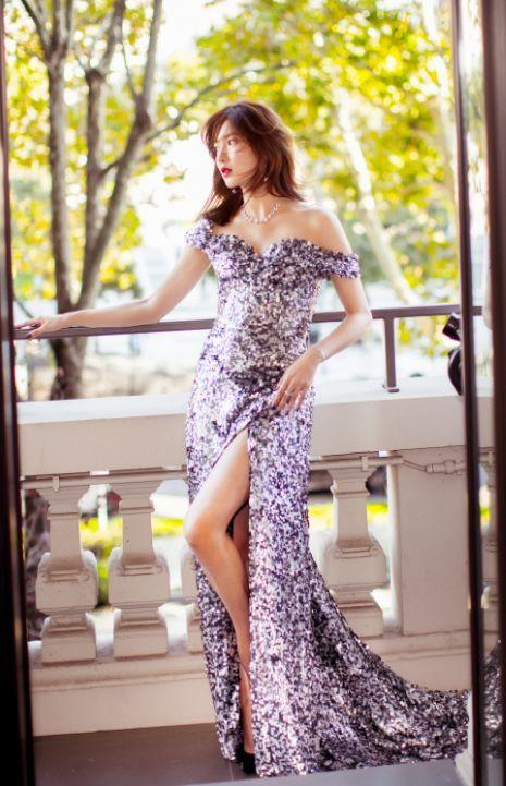亮片裙也能玩时髦?热巴化身人鱼公主,秦岚37岁了还要穿!