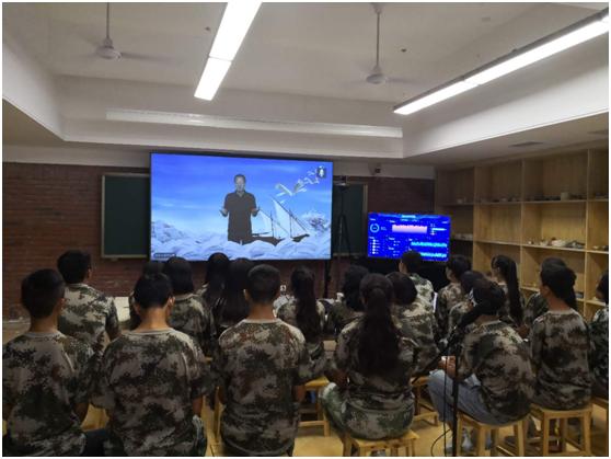 """新东方助力打造雅安首个AI双师课堂,俞敏洪远程开讲""""第一课"""""""