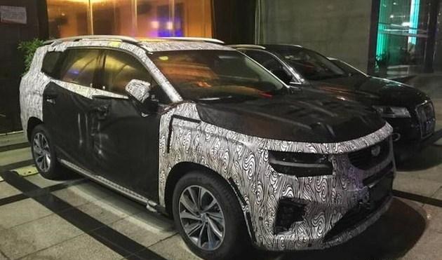 吉利新车用上了沃尔沃的大灯?定位中大型SUV目标直指GS8!