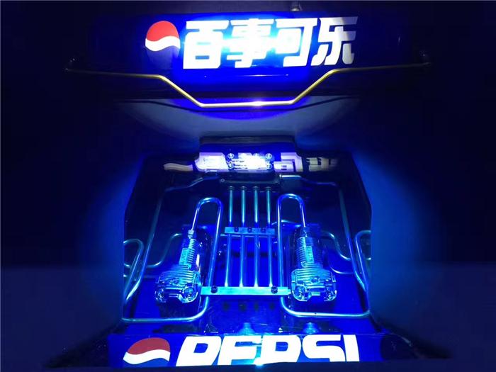 气动避震李洋分享accuair后备箱造型设计(百事可乐)图片