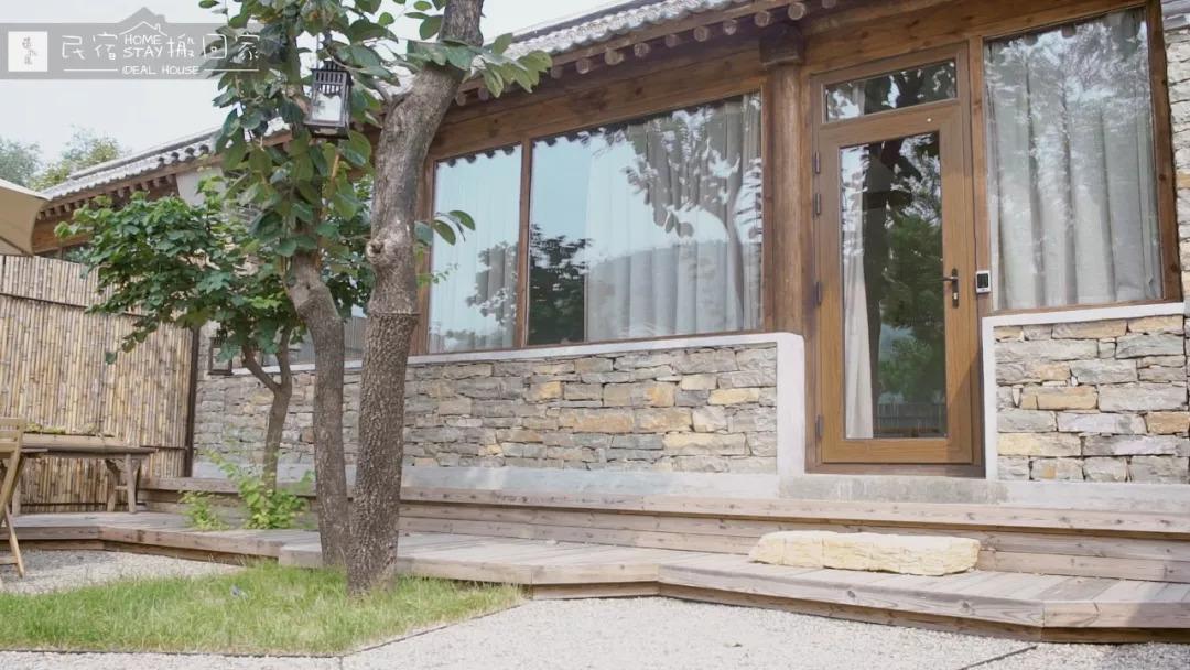 《民宿搬回家 · 北方农村小院中の日式极简风民宿》