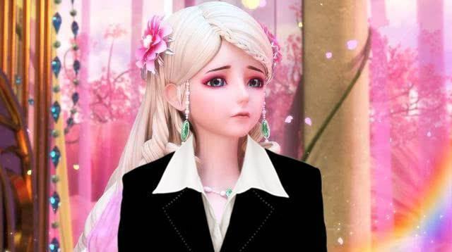 叶罗丽:五位角色穿上西装之后,思思很干练,辛灵仙子被毁了小公主图片